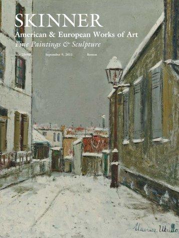 Fine Paintings & Sculpture - Skinner