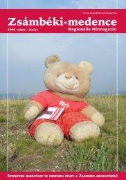 2009 MÁJUS-JÚNIUS PDF-ben letölthető - Zsámbéki-medence