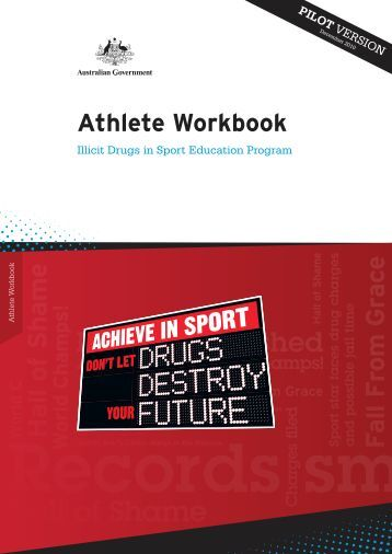 Drugs in Sport Education Program.