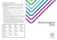 Medlemsavgifter 2013 - Teknikföretagen
