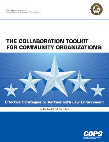 The Collaboration Toolkit for Community Organizations: Effective