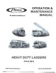 2001©Heavy Duty Ladders Manual