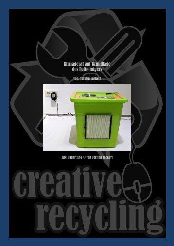 Klimagerät auf Grundlage des Luftreinigers - creative-recycling bei ...