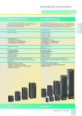 catalogo micromaster variadores de frecuencia - Page 5