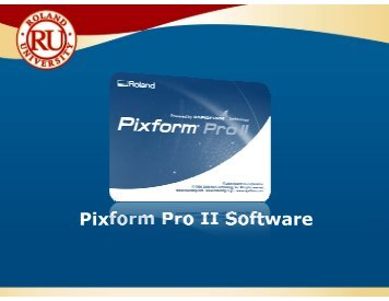 Pixform Pro II Software - Support