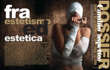 DONNA IMPRESA MAGAZINE DOSSIER: FRA ESTETISMO ED ESTETICA