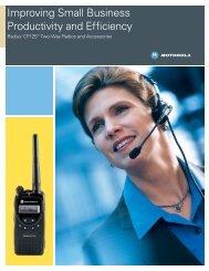 CP125 Sales Brochure - (424 KB PDF) - MyRadioMall