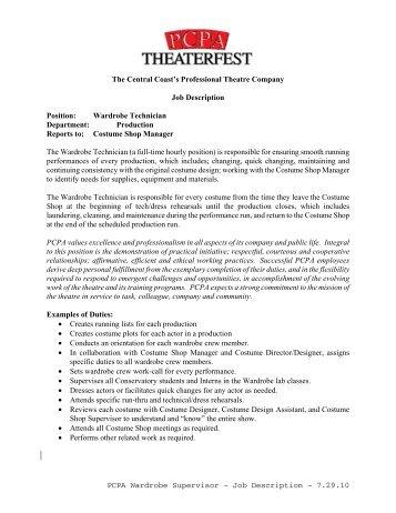 Supervisor Job Description ApplicationPdf  RetsdMbCa