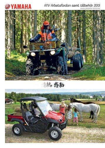ATV Arbetsfordon samt tillbehör 2013 - Yamaha Motor Europe