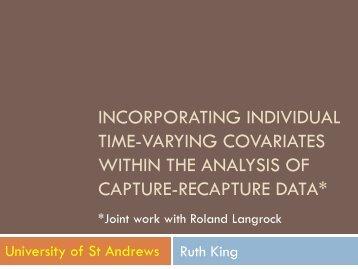 Dr Ruth King: slides