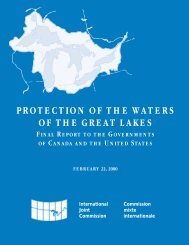 protection of the waters of the great lakes - Council of Great Lakes ...
