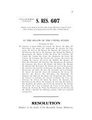 S. Res. 607 (ATS)