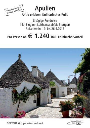 Karstadt Esslingen-Apulien_2012.qxp - Karstadt Reisen