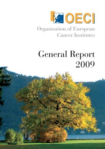 General Report 2009 - OECI