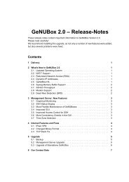 GeNUBox 2.0 – Release-Notes - GeNUA