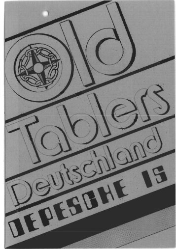 21 - Old-Tablers Deutschland