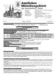 Nr. 38 Auflage 1100 Stück 23.09.2010 - St. Peter