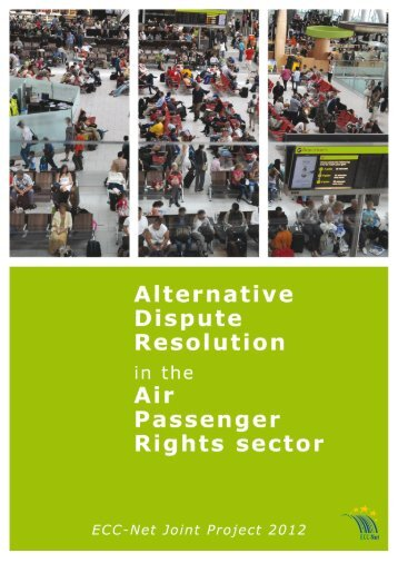 3. Recommendations regarding ADR in the APR sector and best ...