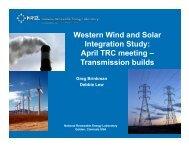 Transmission buildout - NREL