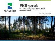 FKB-prat - Kartverket