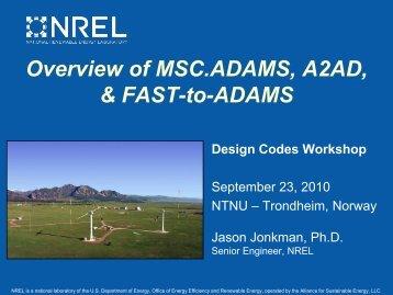 Overview MSC.ADAMS - NREL