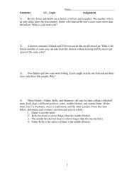 Logic Assignment 1) Brown, Jones and Smith are a doctor, a lawyer ...