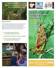 Nature Education Programs - Destination Oakland
