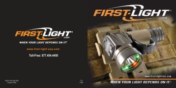 Product Catalog (909 KB) - First-Light USA