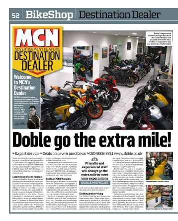 MCN Destination Dealer - Doble Motorcycles