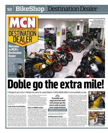 MCN Destination Dealer - Doble Motorcycles