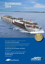 FLUSSREISEN 2014 - cruise navigator