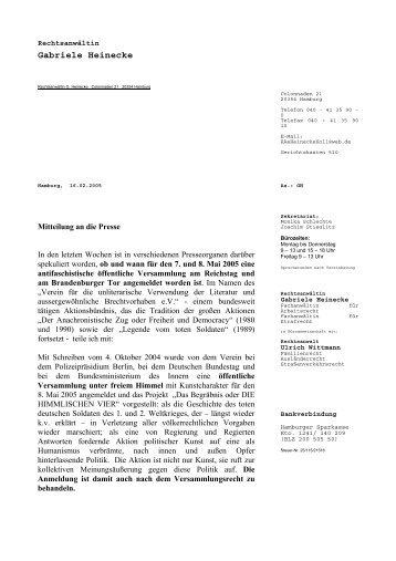 Gabriele Heinecke - Das Begräbnis oder DIE HIMMLISCHEN VIER