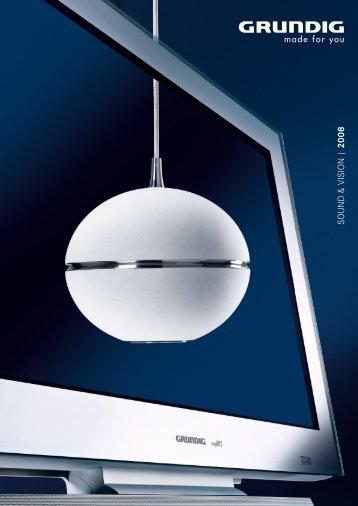 SOUND & VISION | 2008 - Grundig