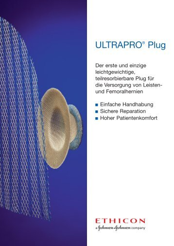 ULTRAPRO® Plug - Ethicon
