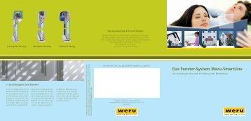 Weru Smartline: Das Fenster-System Weru-SmartLine der ...
