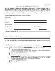 Field Trip Form - Gill Montague Regional School District