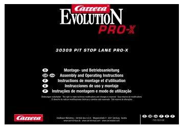 30309 PIT STOP LANE PRO-X Montage- und Betriebsanleitung ...