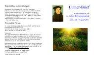Juni/Juli/August 2013 - Evangelischer Kirchenkreis Berlin-Schöneberg