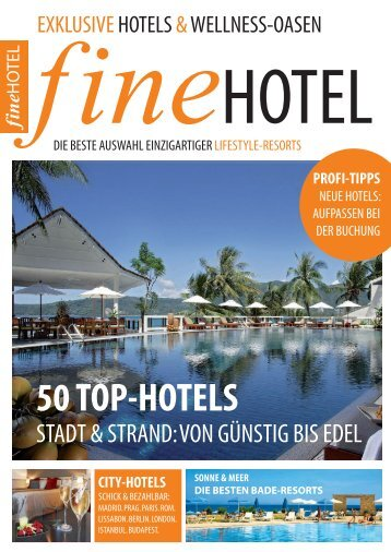 50 TOP-HOTELS - Lobster Experience