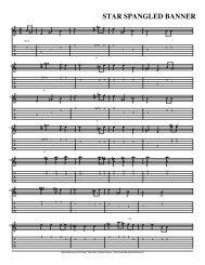 Star Spangled Banner.ptb - Guitar Jazz Tabs