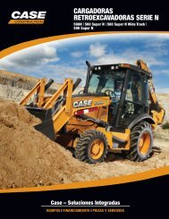 cargadoras retroexcavadoras serie n - Case Construction