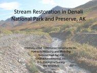 Stream Restoration in Denali National Park and Preserve, AK