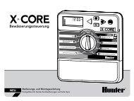 X-Core - Hunter Industries