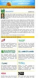 newsletter summer 2011 DRAFT - SAI Platform