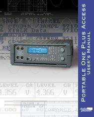 P o r table One Plus Access - Advanced Audio