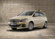 Preisliste Taxi und Mietwagen - Autostern