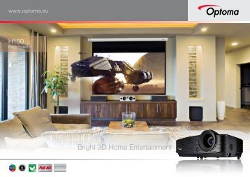 Bright 3D Home Entertainment - Optoma