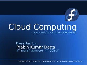 Cloud Computing - Fedora Project