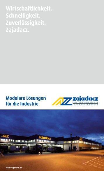 Zajadacz Broschüre für Industrie