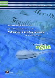 ICT and Electronic Business in the Publishing and ... - Attitudeweb
